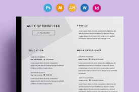 Awesome Resumes Templates 24 Creative Resume Templates You Won't Believe Are Microsoft Word 8