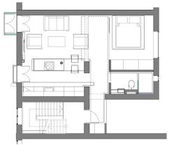 Modern Small Apartment Floor Plan