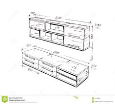 modern furniture design sketches. Beautiful Modern Interior Winsome Furniture Design Drawing 4 Modern Freehand 13298930  Drawing Programs Furniture Design To Sketches R