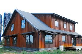 image of corrugated metal siding tiny house