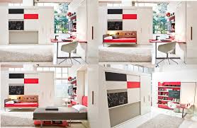 living room with bed: space saving beds bedroom contemporary with bed clei murphy bed