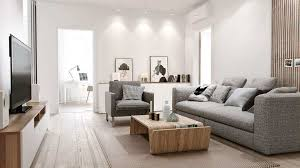 how to decorate white walls in living room inspirational home apartment cool grey sofa