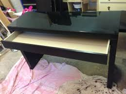 malm dressing table ikea malm and table desk on pinterest black ikea glass top desk
