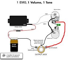 wiring diagram 1 humbucker 1 volume 1 tone wiring guitar wiring diagrams 2 pickup 1 volume images guitar two pickup on wiring diagram 1 humbucker