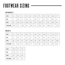 Women S Shoe Size To Kids Conversion Chart Sizing Zoot Sports