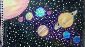 How To Draw Solar System Step By Step How To Draw Planets Step By Step