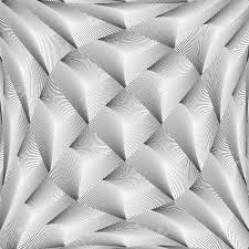 Design Monochrome Warped Grid Diamond Pattern Abstract Volume