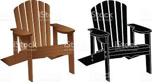 adirondack chair silhouette. Adirondackmuskoka Chair Stock Vector Art \u0026 More Images Of . Adirondack Silhouette U