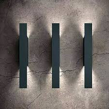 contemporary outdoor lighting sconces. contemporary outdoor light sconces modern exterior wall sconce opi by leucos lighting at lumenscom