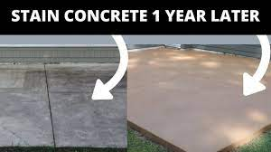 to stain concrete simple diy method