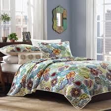 bohemian bedding paisley moroccan boho chic design full queen 3 piece quilt