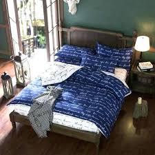 blue duvet covers double um image for home textile duvet cover blue love letter printed cotton
