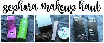 sephora makeup haul mommylikewhoa