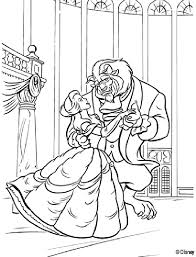 Beauty And The Beast Coloring Pages 14 Free Printable Coloring