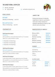 Edit Resume For Free 6 Resume Template To Edit And Download My Resume Format