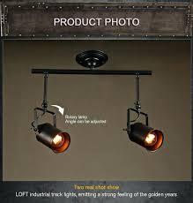 industrial track lighting led spotlights industrial corridor bar clothing aisle pendant lights hall cob track