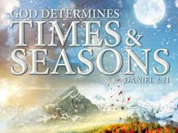 Image result for times and seasons