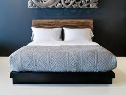 santomer low headboard bed – environment furniture