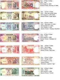 Indian Currency Chart For School Project Indian Currency India Facts History Of India Economy Of