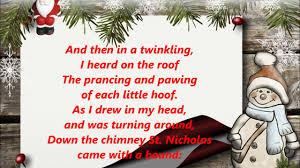 Twas the Night Before Christmas RAP words lyrics trending sing ...
