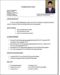 Resume Sample For Fresh Graduate Business Administration Resume