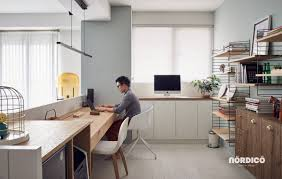 two desk office. 26 |; Designer: Nordico Two Desk Office 1