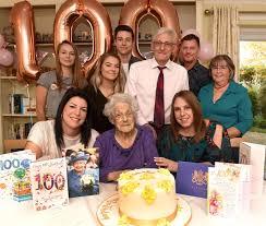 King's Lynn resident Joan Stubbs celebrates 100th birthday