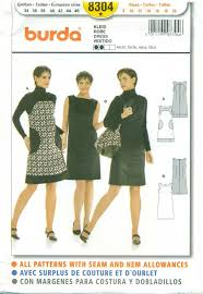 Burda Patterns Fascinating BURDA SEWING PATTERN 448 Misses' Sleeveless Dress Size 48 To 48