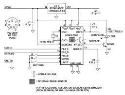 mouse sensor circuit diagram wiring electronic schematic design plans schema diy projects handbook guide tutorial schematico electratildesup3nico schatildecopymatique diagrama