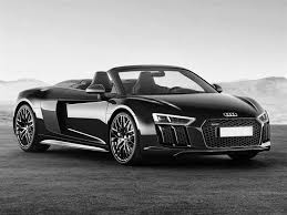 audi r8 convertible black. Exellent Convertible Audi R8 Spyder 52 V10 Plus Quattro 610ps S Tronic 2018 SPORTS EXHAUST  MAGNETIC RIDE BANG And OLUFSEN HiFi 20 Intended Convertible Black