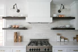 Open Kitchen Shelf Open Kitchen Shelves Instead Of Cabinets Nickel Single Faucet Wood