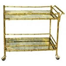 bamboo bar cart. Faux Bamboo Drinks Cart By Bagues - Asian Bar Carts Beth Connolly A