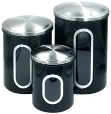 kitchen counter canisters top