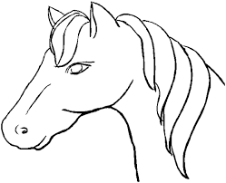horse face coloring page. Beautiful Horse Coloring Book Pages  Horse Head In Face Page