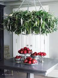 indoor wreath chandelier