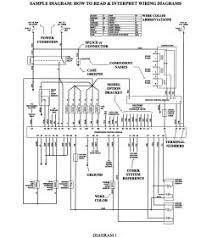 1997 ford escort wiring diagram wiring diagram and schematic design ford radio wiring diagram eljac 1997