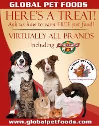 Pet Poster Free Pet Food Program Global Pet Foods 5