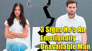 Emotionally Unavailable Men Pattern Extraordinary 48 Signs Youre Dating Emotionally Unavailable Men YouTube