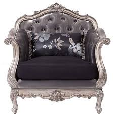 acme 51540 chantelle collection antique platinum rocco tufted leather sofa set traditional living antique living room furniture sets
