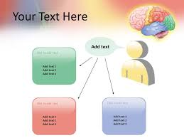 Ecg And Brain Powerpoint Template, Ecg And Brain Ppt Slide, Ecg And ...