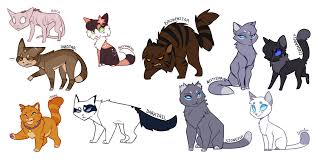 Unique Warrior Cat Designs You Can Find All Of My Warrior Cat Designs Here Sta Sh