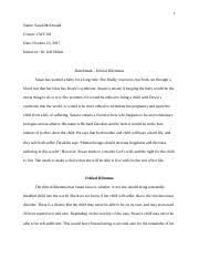 cwv ethical dilemma essay christina deleonwatson cwv  6 pages ethical dilemma essay docx