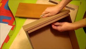 22add the habdle and it to the cardboard drawer