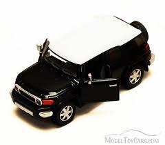 Toyota FJ Cruiser SUV, Black - Kinsmart 5343D - 1/36 scale Diecast ...