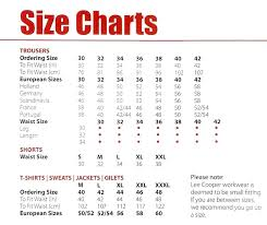 Lee Jeans Size Chart Best Picture Of Chart Anyimage Org