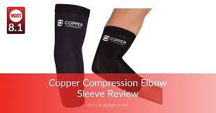 Copper Compression Elbow Sleeve Review