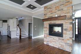 Two Story Living Room Decorating Fireplaces Stanton Homes