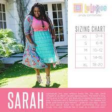 Lularoe Maurine Size Chart Lularoe Sarah Cardigan Size Chart Www Bedowntowndaytona Com