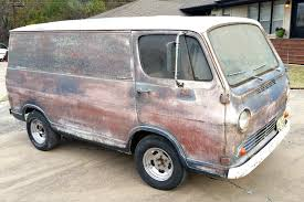 Psychedelic Patina: 1964 Chevrolet G10 Van - http://barnfinds.com ...