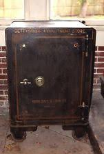 york safe. antique gettysburg department store york safe working combination vtg floor bank